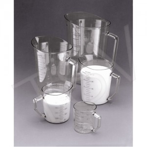 Measuring Cup 1 Pint Clear Polycarbonate Standard/Metric Measurement