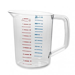 Measuring Cups Capacity: 2 Quarts Type: Individual