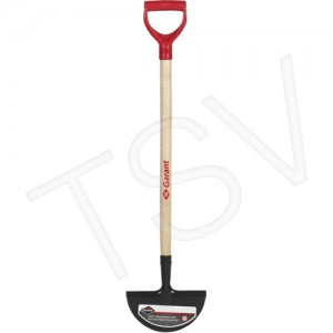 """Turf Edger Blade Size: 4-3/4"""" x 9"""" Handle Material: Wood Handle Type: D-Grip Handle Length: 31-5/8"""""""