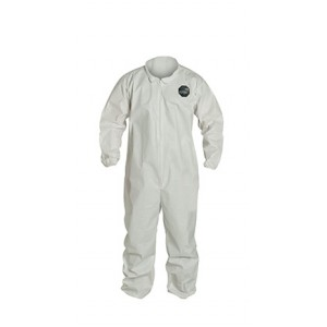 DuPont Proshield 60 Coverall, Collar, Elastic Sleeves and Ankles, 25 Per Case