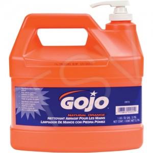 GOJO ® Natural Orange TM Pumice Hand Cleaner Type: Cream Container Size: 3785.41 ml Container Type: Jug Fragrance: Orange/Citrus