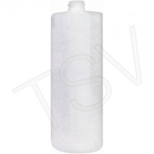 Plastic Bottles 16 oz. Cylindrical without graduations