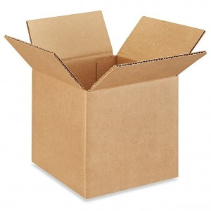 "Corrugated Carton 6"" X 6"" X 6""  25/Bundle"