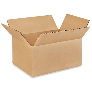 "Corrugated Carton 9"" X 6"" X 6""  25/Bundle"