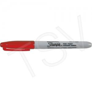 Sharpie #15 Permanent Marker Red Fine