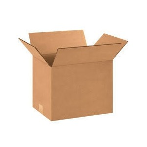 "Corrugated Box 14x12x10"" 25/Bundle"