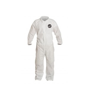 DuPont™ ProShield® 10 Coverall, Collar, Elastic Ankles and Sleeves, 25 Per Case