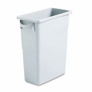 3541 Slim Jim® Waste Container with Handles