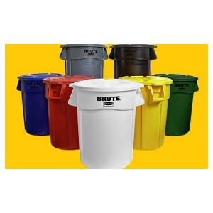 20 Gallon, Brute Garbage Can, Pick a Color, Polyethylene