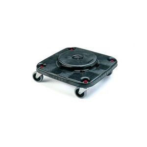 Square Brute Dolly Fits 28/40G Square Container - Black