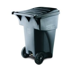 Brute Roll Out Container - 95G- Gray