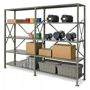 """Steel Shelving, 6 Shelves, 48 x 18 x 88"""""""