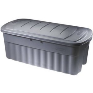 50 Gal Storage Tote Rubermaid Roughneck