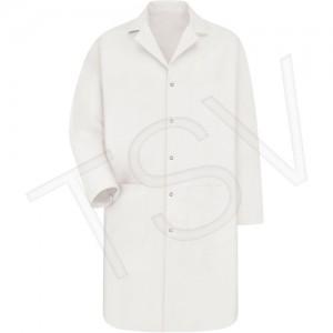 Lab Coat Material: Poly-Cotton Colour: White