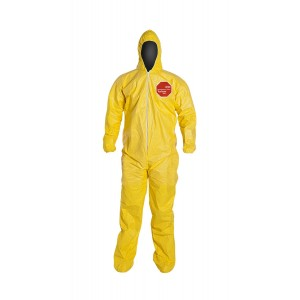 Tychem ® 2000 Coveralls Material: Tychem® Colour: Yellow, Individual