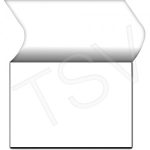 """WHMIS Label Clear Overlaminate 5 X 3.5"""" Protector"""