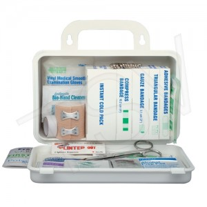 First Aid Kit WS Ont Auto Deluxe 1-5 Emp