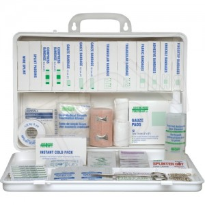 First Aid Kit We Share Brand  Ontario #1 Deluxe 6-16 Emp