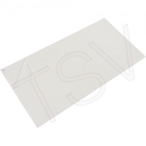 Clean Room Tacky Mat  Width: 2' Length: 3' Thickness: 40 mics Colour: White