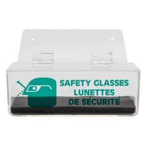 Safety Glasses Dispenser With Lid