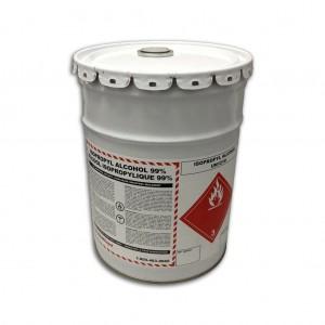 Isopropyl Alcohol 70% USP, 20L Pail w Plastic Pour Spout Lid