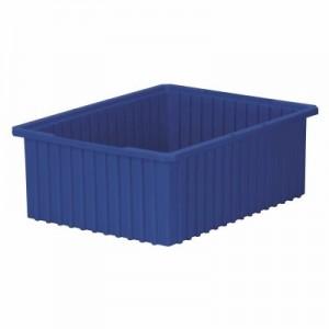 Akro-Grid Dividable Box 22-3/8 x 17-3/8 x 8, Blue (33228BLUE)