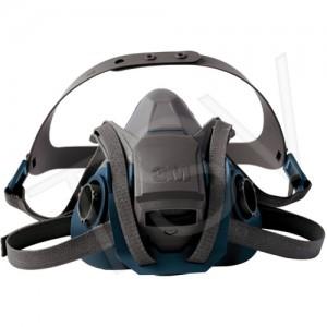 3M 6503 Respirator Half Mask 3M 6500 w/Quick Latch, Silicone