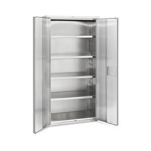 Storage Cabinet Stainless Steel 48X24X73
