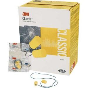 ,AP,  CLASSIC CORDED EARPLUGS 311-1101, IN POLY BAG 2000 PR PER CASE