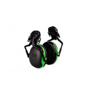 3M PELTOR HARD HAT ATTACHED ELECTRICALLY INSULATED EARMUFFS X1P5E, 10 EA PER CASE