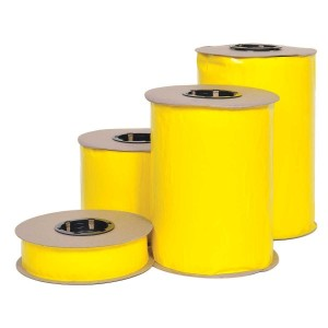 """Yellow Sticky Roll, 530' Roll 2"""" Wide, Double Sided"""