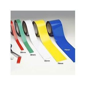 "Label Magnetic Strip Plain .060x1""x100' scored 3.5"" 340pcs/rl"