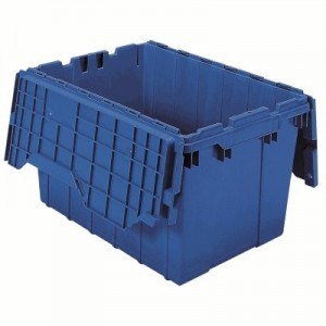 """Attached Lid Container Outside Height: 12-1/2"""" Outside Length: 21-1/2"""" Outside Width: 15-1/4"""""""