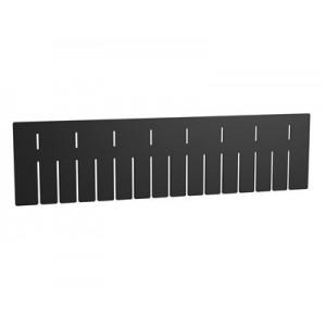 Long Divider for Akro-Grid 33226, 6 Pack, Black (42226)