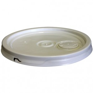 Lid  19L5Gal White Gasket and Flex Spout