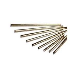 "14"" Channel w/Rubber - Brass Pack of 10       Price Per    EA"