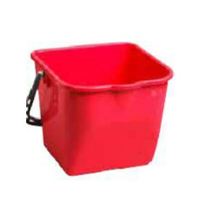 15L Heavy Duty Pail - Red Pack of 15       Price Per    EA