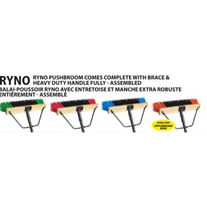 "18"" Ryno w/Polypro Fill, Brace, Tapered Handle - Green/Black Medium Stiffness Pack of 4       Price Per    EA"