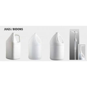1G Round White 38/400 Jug Pack of 25       Price Per    CS
