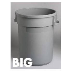 20G Garbage Container - Grey Pack of 1       Price Per    EA