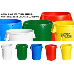 32G Garbage Container - Blue Recycle Pack of 1       Price Per    EA