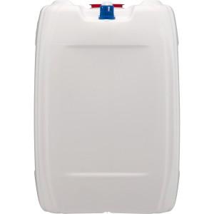 Container 10 L White Rectangler Plastic w/ Cap & Vent Food Grade