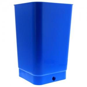 Flo n Gro Bottom Drain Blue Bucket   4 Gallon  24perCs