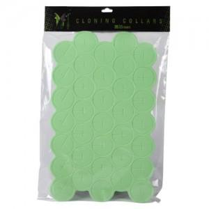 Ez Clone Colored Cloning Collars Green  35perBag