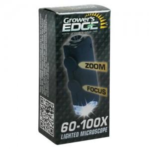 Grower's Edge Illuminated Microscope 60x   100x  36perCs