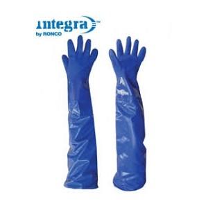 "Integra, 28"" Extended PVC Triple Dipped Glove, Dozen"