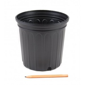 7 Gallon Black Trade Nursery Greenhouse Pot - 250 eaches