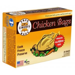 True Liberty Chicken Bags 12 in x 20 in 25perPack