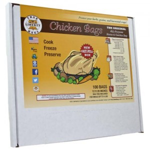 True Liberty Chicken Bags 100perPack