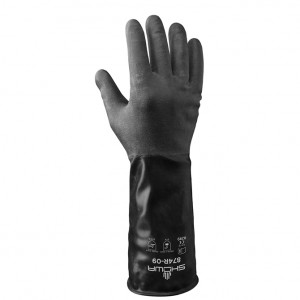 Butyl Rubber Gloves - Large